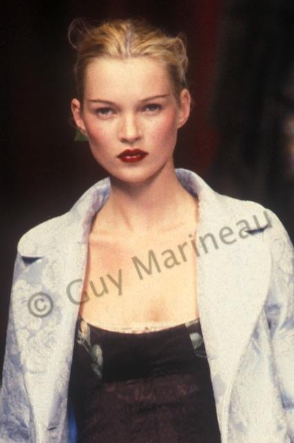 1996 Fendi Furs Fashion Magazine Print Ad: Guy Marineau Photography